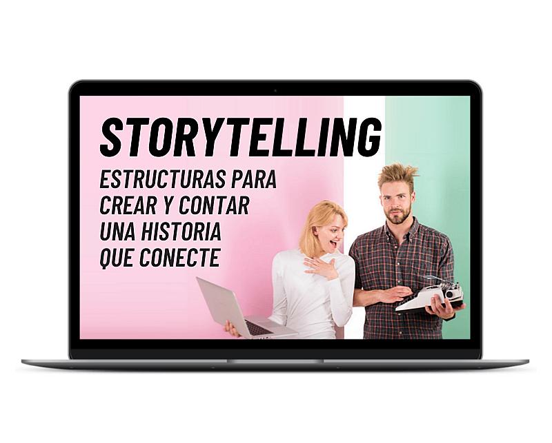 Curso de Storytelling: crea tu historia y conecta con tu audiencia.