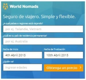 Fomras de ganar dinero con tu web o blog de viajes - Seguro de Viajero - WorldNomads