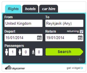 Ganar dinero con tu blog de viajes usando el Widget de SkyScannerBusiness