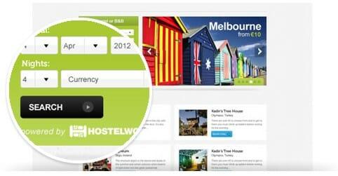Ganar dinero monetizando tu web con HostelWorld