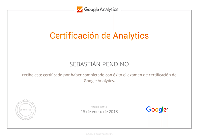 certificación google analytics google partners
