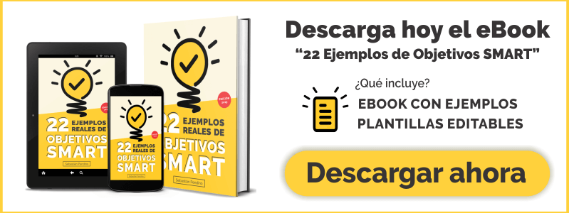 Ebook: Objetivos SMART en Español.
