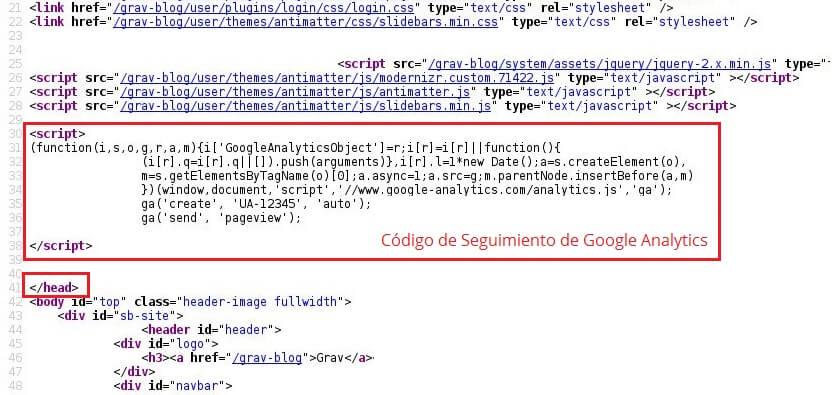 html-instalar-codigo-google-analytics